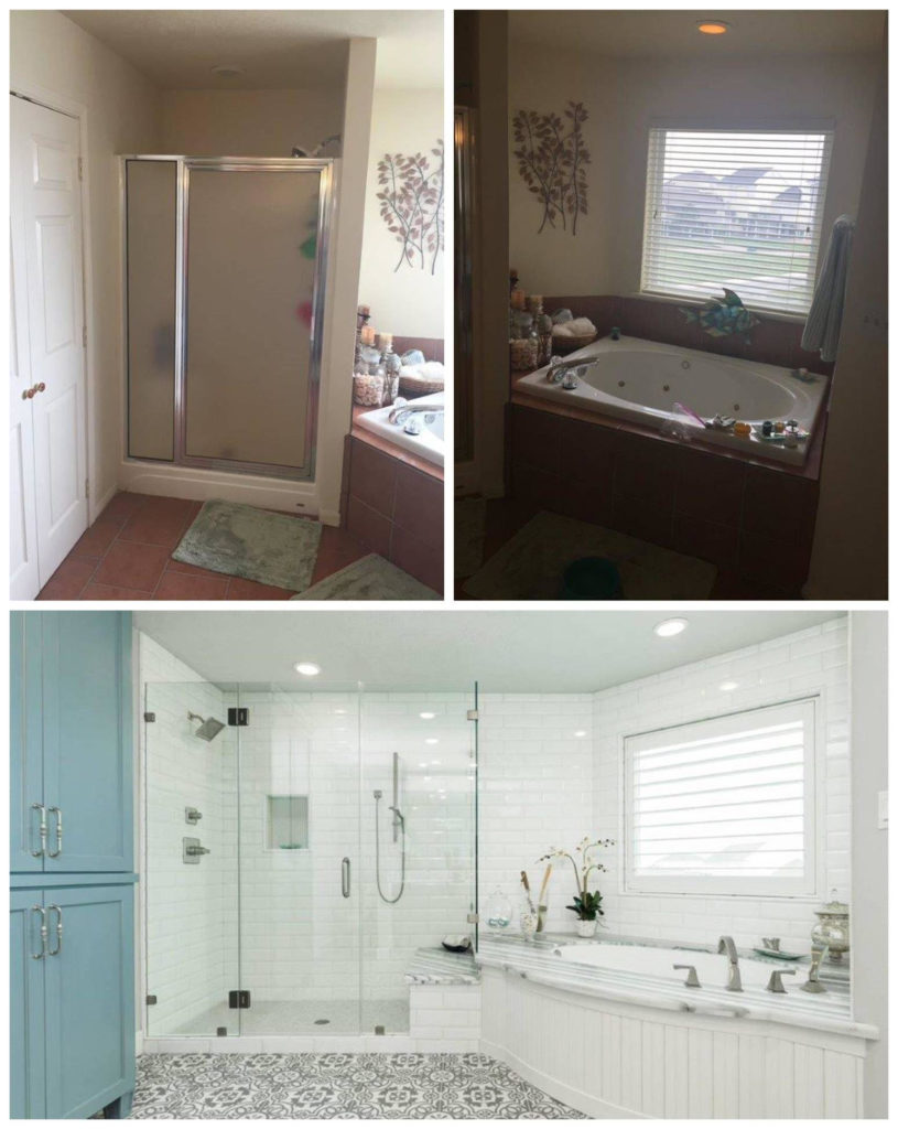 Waltons Masterbathroom Shower